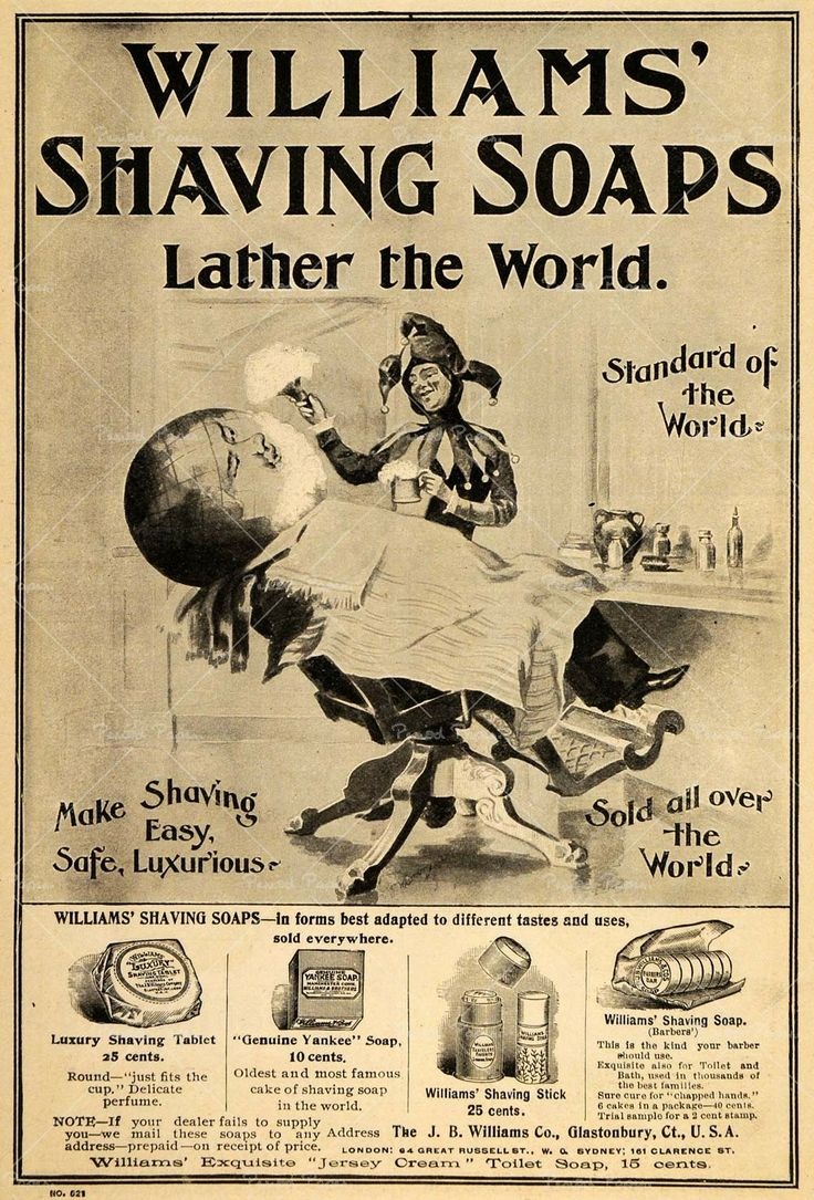 46 Best Images About Vintage Shaving Advertising On