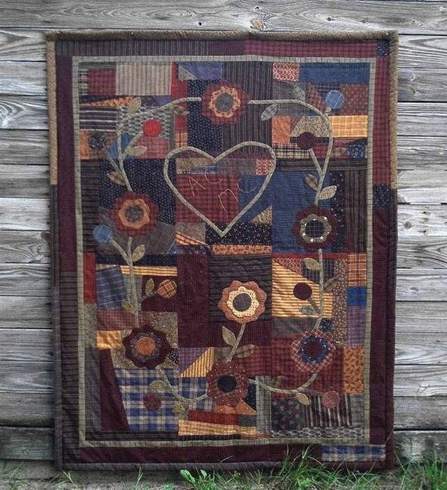 319 best Primitive/ vintage quilts images on Pinterest | DIY ... : primitive quilts and projects blog - Adamdwight.com