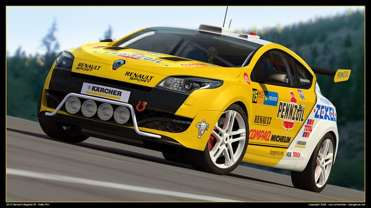 2010 Renault Megane RS Rally by dangeruss on deviantART