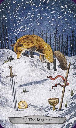 Animal Totem Tarot. By Eugene Smith and Leeza Robertson
