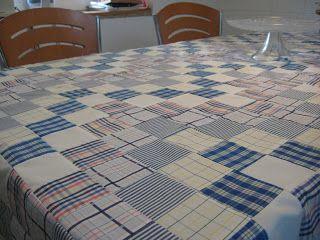 Mantel de patchwork