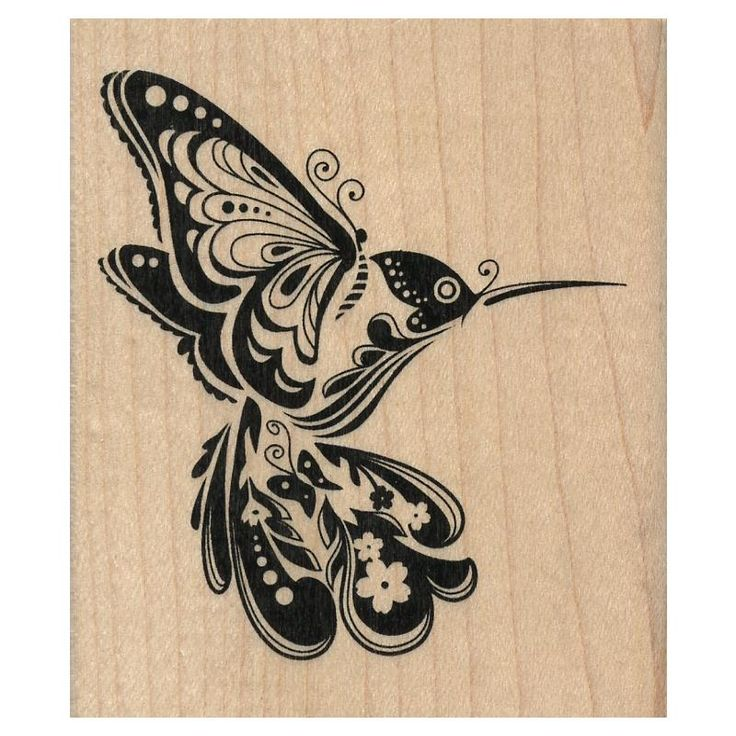 Tribal Rose Tattoos | Tampon Nature Oiseau Colibri Inkadinkado -a little tribal, not so heavy with the black ink. Prob in color