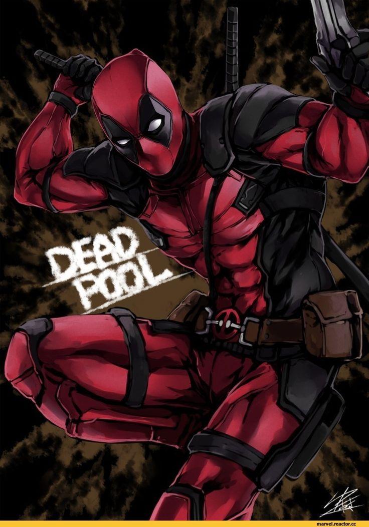 Deadpool,Дэдпул, Уэйд Уилсон,Marvel,Вселенная Марвел,фэндомы,yusuki (fukumen),Fukumen
