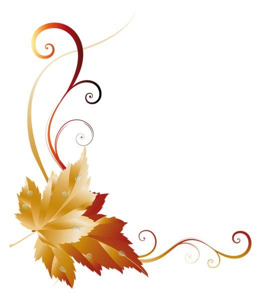 Fall Transparent Leaf Decor Picture