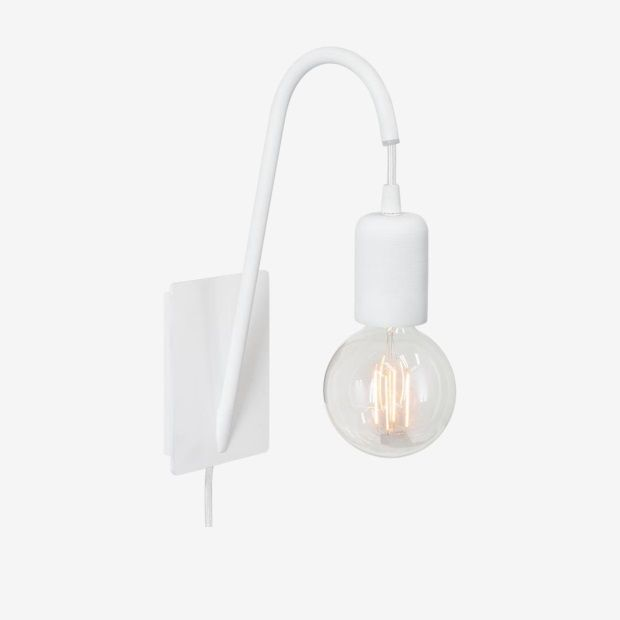 vtwonen Glow Wandlamp - Wit - afbeelding 1