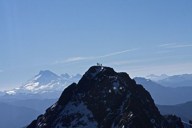 Top of Mt. Cheam, Chilliwack, BC by kylehislop, via Flickr