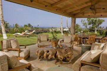 Lanai tropical patio