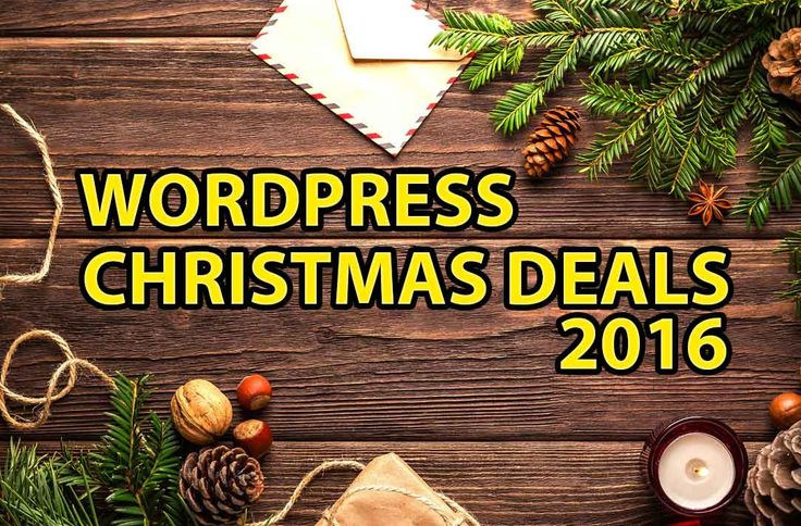 WordPress Christmas Deals 2016 & Coupon Codes  http://www.frip.in/wordpress-christmas-deals/  #Christmasdeals #Christmas #Deals