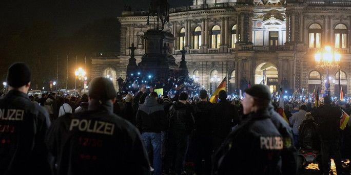 Die Polizei in Sachsens Hauptstadt: Alles verhältnismäßig? - taz.de
