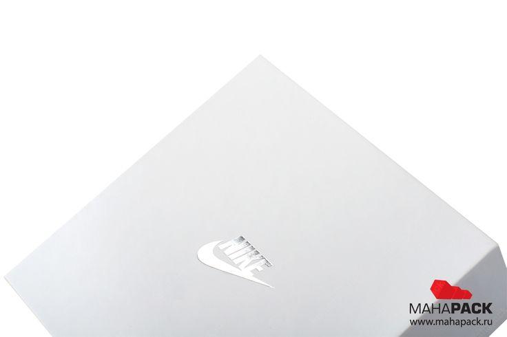 Кашированная коробка крышка-дно с ложементом для аксессуаров под заказ