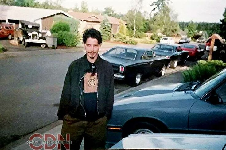 Circa 1994. Photos by Community Digital News. #ChrisCornell #Soundgarden