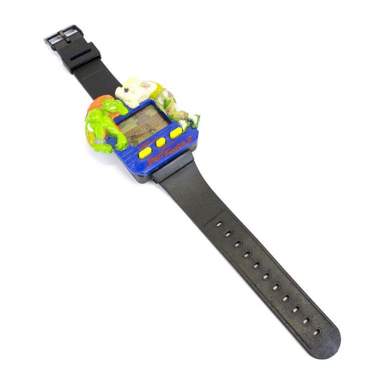 Retro 1993 LCD Street Fighter II Wrist Watch by Tiger Electronics