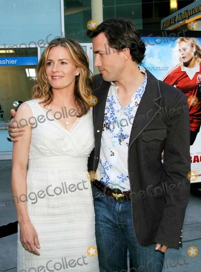 Elisabeth Shue and Her Brother Andrew Shue