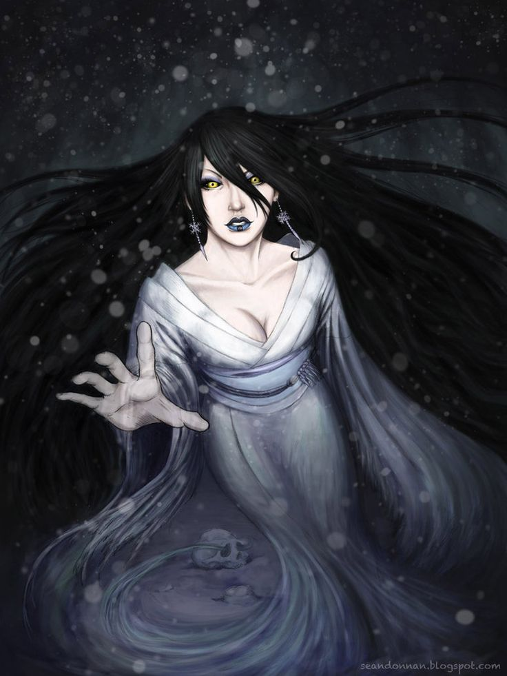 Yuki-onna by SeanDonnanArt on DeviantArt