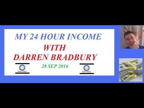 My 24 hour income Day 38 update With Darren Bradbury