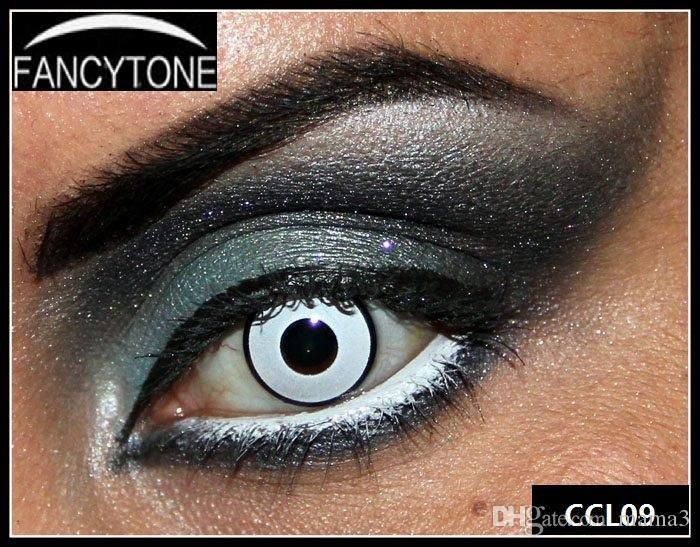 Shop DHgate.com for a great selection of 2016 white -manson 1pair=2pcs/new box package halloween contact lens crazy lens cat eye vampire sharingan twilight rave black out white out how much contact lenses cost how to care for contact lenses how to order contact lenses online by mama3 at unbeatable price!