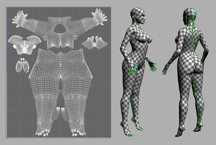 body texture 3d - 736×495