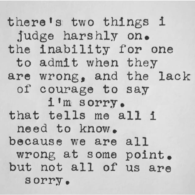 Insta repost | Sunday's are for apologies and forgiveness...and don't be sorry because you got busted; be sorry because you were an asshole. We all make mistakes and I've had many heated wars on here as many know, and I've had many apologize in DM...and I accept it every damn time. It's not about being wrong, it's about acknowledging it and making it right ❤️❤️ #forgiveness #apologies #ownit