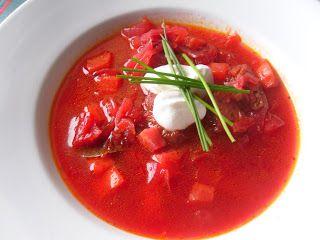Zdravě jíst: Vegetariánský boršč