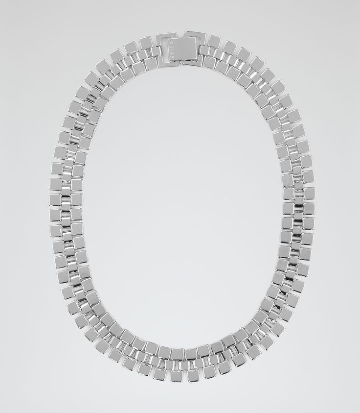 Womens Silver Chain  Necklace - Reiss Meadow