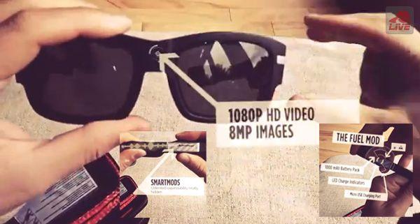 超高画質ウェアラブル動画撮影ガジェット「PIVOTHEAD SMART」サングラス型ビデオにスマートでハイテクな最新版が登場!- http://japa.la/?p=25719