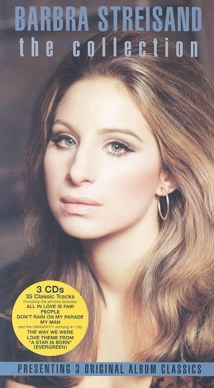 BARBRA STREISAND THE COLLECTION includes 3 LPS on 3 CDS: FUNNY GIRL(1968)/THE WAY WE WERE(1974)/A STAR IS BORN(1976). 3 LPs on 3 CDs: FUNNY GIRL (1968)/THE WAY WE WERE (1974)/A STAR IS BORN (1976). Pe