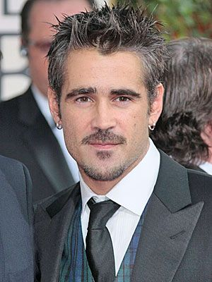 Colin Farrell. I do have a major weakness for bad boys...