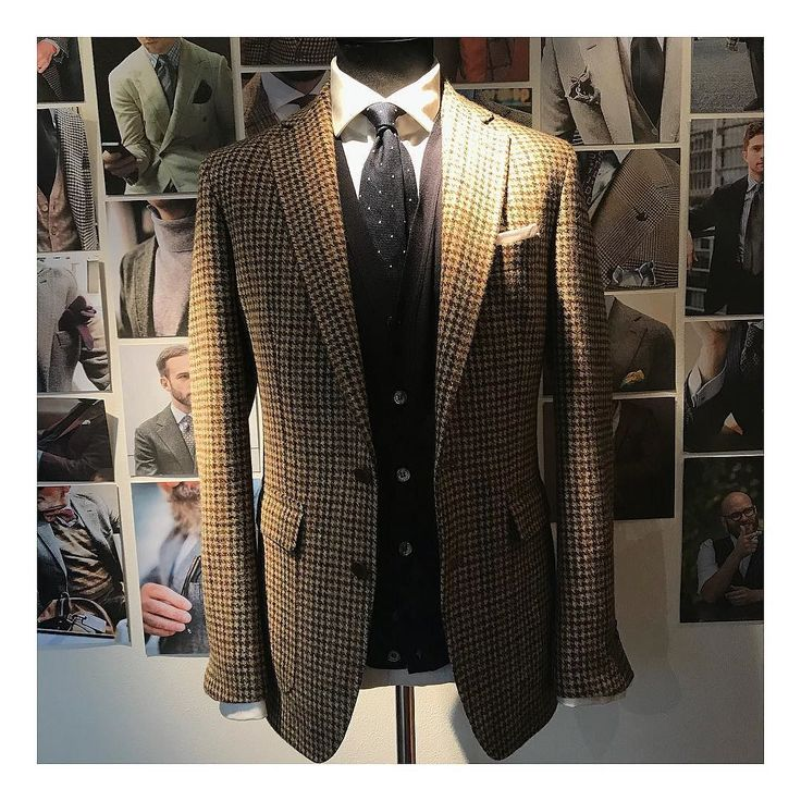 Ready for the day! #tweed #jacket #autumn #madeinengland
