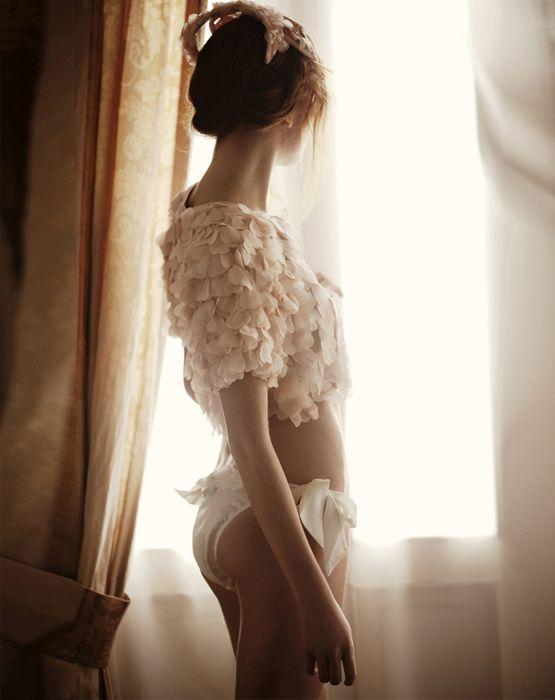 pink ruffles x Marie Claire Turkey, February 2011 by Cihan Alpgiray ♥Manhattan Girl♥