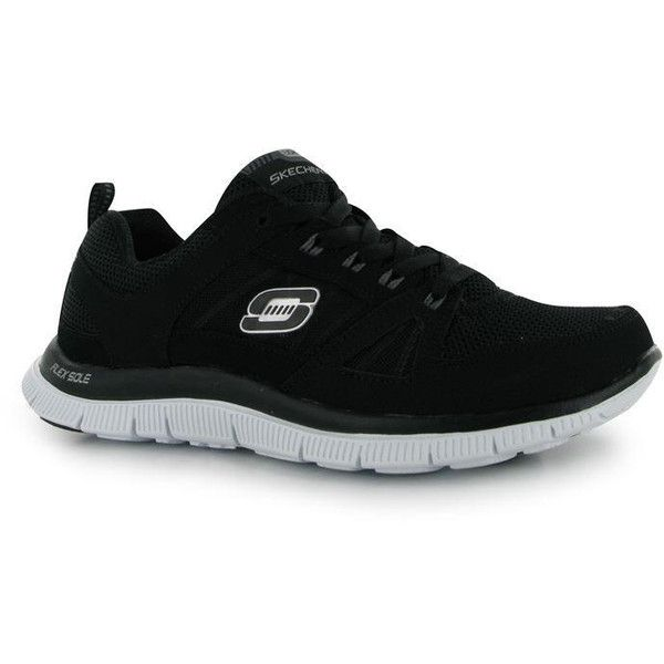 Skechers Flex Appeal Spring Fever Ladies Trainers (1,705 PHP) ❤ liked on Polyvore featuring shoes, sneakers, skechers shoes, skechers footwear, skechers, skechers sneakers and skechers trainers
