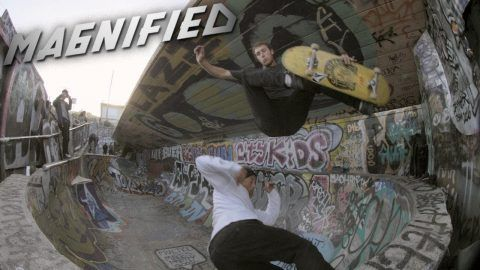 Magnified: Grant Taylor and Omar Hassan – ThrasherMagazine: ThrasherMagazine – Barging doubles at a spot that's barely wide enough for one,…