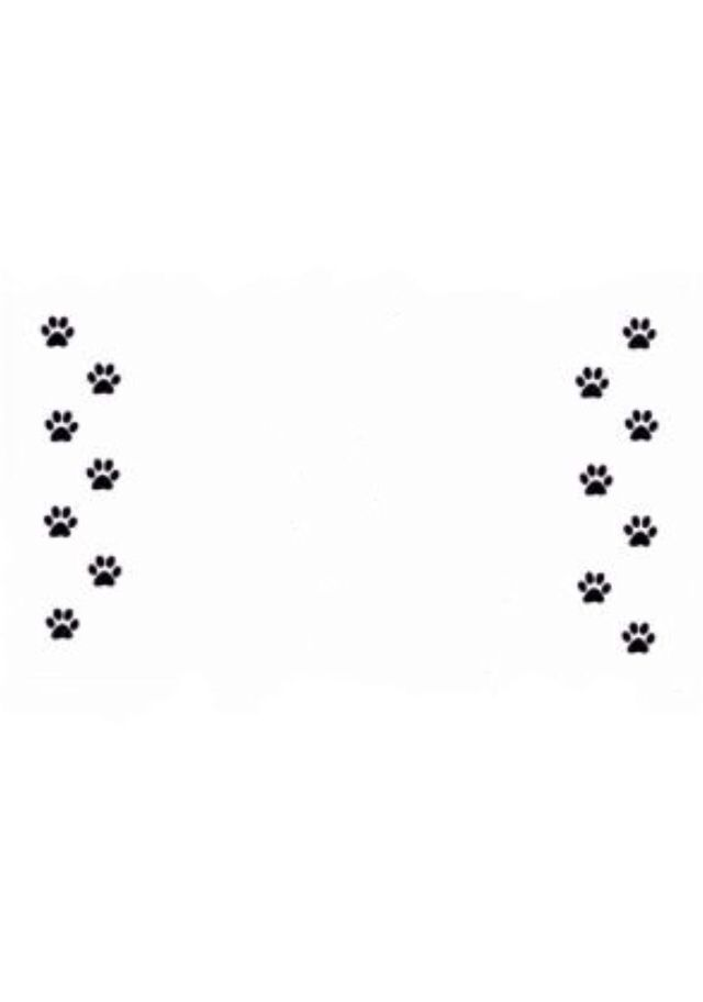 Vertical Paw Prints | Cat-Themed Art | Pinterest