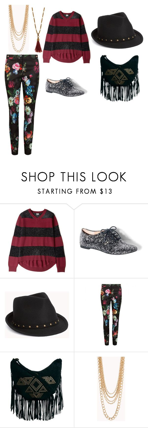 """""""indie rock outfit"""" by rainbow32539 ❤ liked on Polyvore featuring Markus Lupfer, Vince Camuto, Forever 21, Ted Baker, MINKPINK and Isabel Marant"""