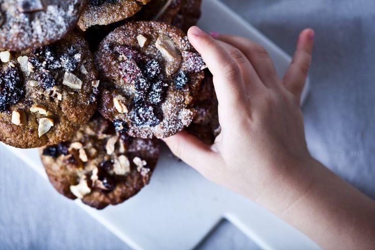 Mrkvovo-jablečné celozrnné muffiny