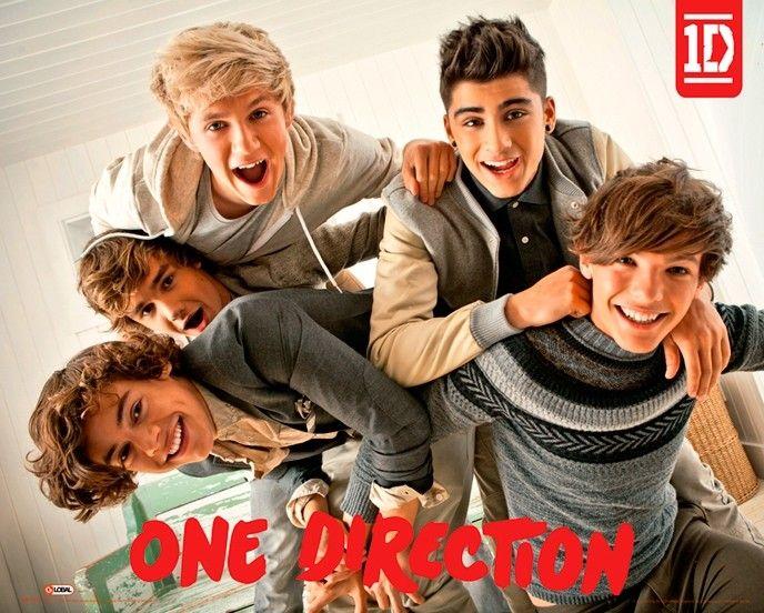 Met deze poster op je kamer zie je gelijk dat je een echte One Direction fan bent. Op de poster een afbeelding van alle bandleden van One Direction. De poster heeft een afmeting van 61 x 92 cm.   Afmeting: volgt later.. - Poster One Direction: 61x92 cm