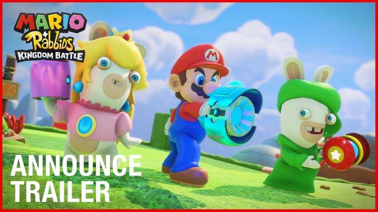 Mario + Rabbids Kingdom Battle: E3 2017 Announcement Trailer   Ubisoft [US]
