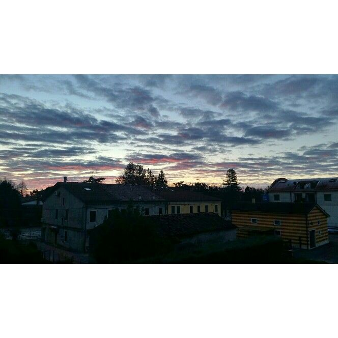 Landscape out of my window...morning 11/2015