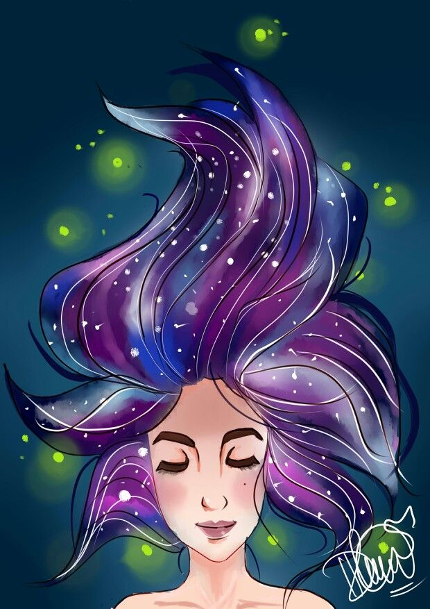 """Galaxy"" by dhea noer azhari."