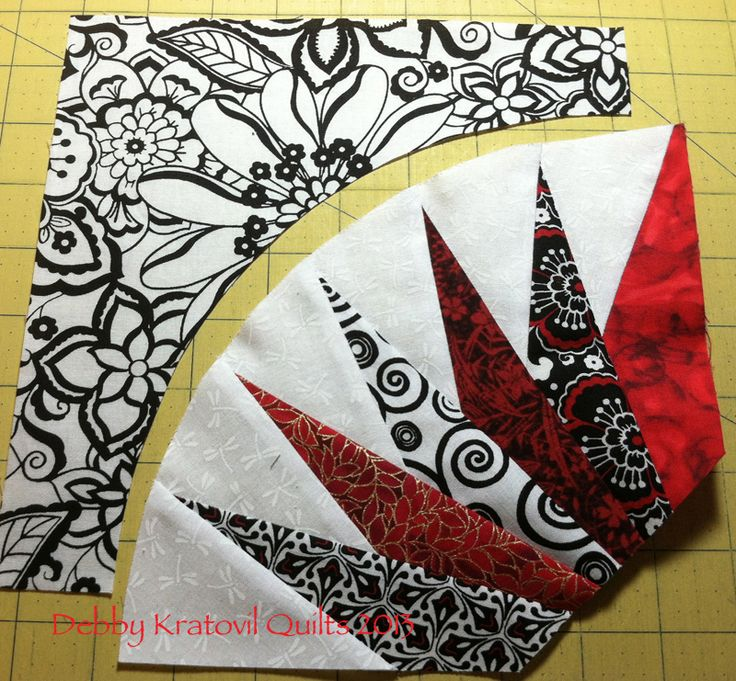 Debby Kratovil Quilts: Paper Piecing Monday