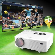 3000 Lumens HD 1080P Projector LCD Proyector Cine en Casa 1280*800 HDMI VGA USB