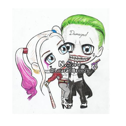 The Joker ❤ Harley Quinn #SuicideSquad