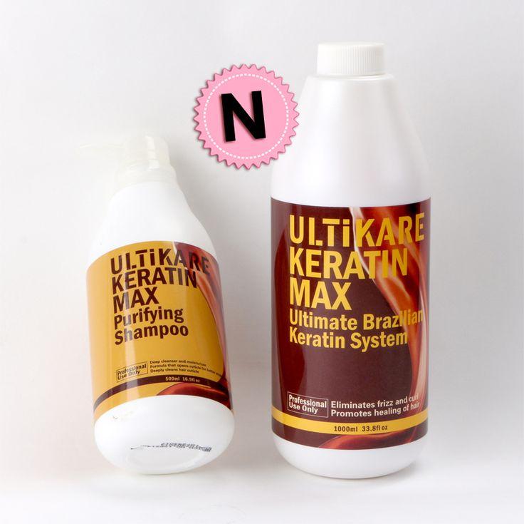 Braziliaanse keratine haar behandeling formaline 5% 1000 ml zuiverende shampoo 500 ml keratine ontkrullen voor gratis verzending