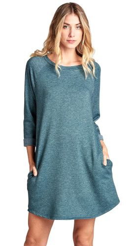 You Had Me at Pockets Tunic