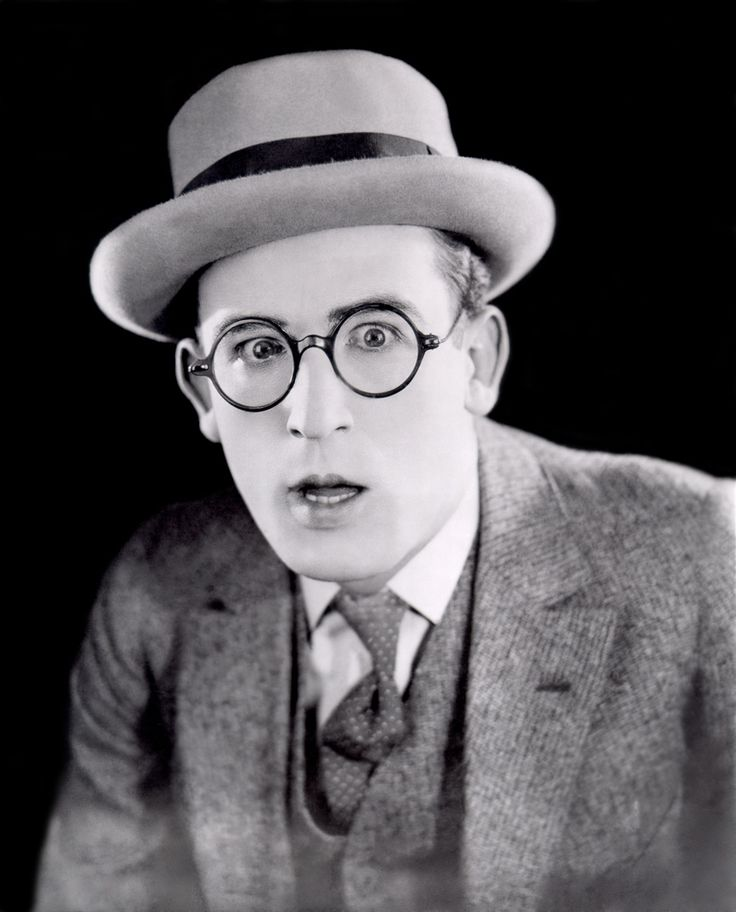 """""""My humor was never cruel or cynical. I just took life and poked fun at it. We made it so it could be understood the world over, without language barriers. We seem to have conquered the time barrier, too."""" - Harold Lloyd"""