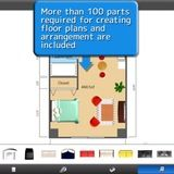 Here are some room design and room layout apps via APARTMENT THERAPY