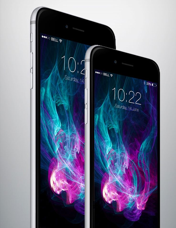 iPhone 6 and iPhone 6 Plus.