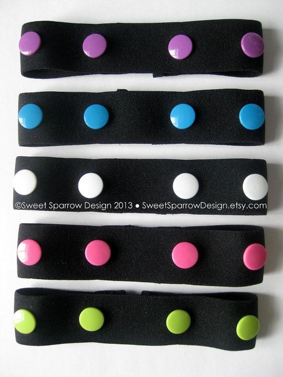 NEW Spring Colors -> Adjustable ELASTIC SNAP BELT Toddler Baby Belt by SweetSparrowDesign, $6.00