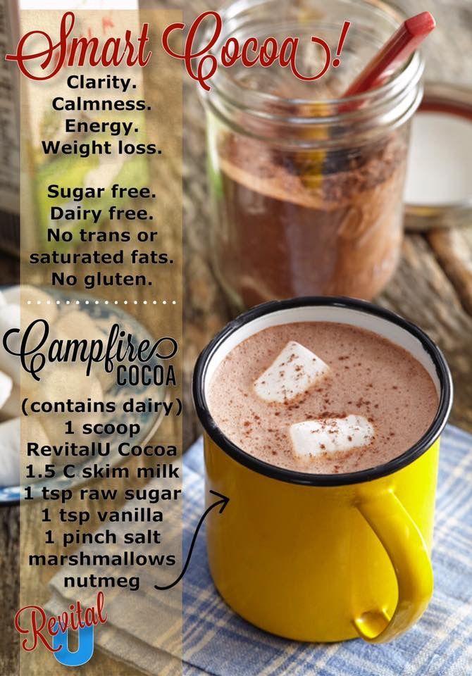 Yummy recipe with RevitalU smart cocoa!!
