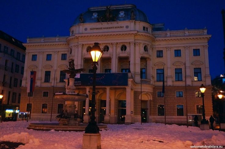 WINTER IN BRATISLAVA - WelcomeToBratislava | The Slovak National Theater