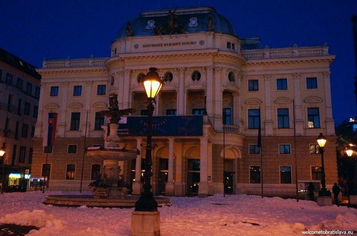 WINTER IN BRATISLAVA - WelcomeToBratislava | The Slovak National Theater